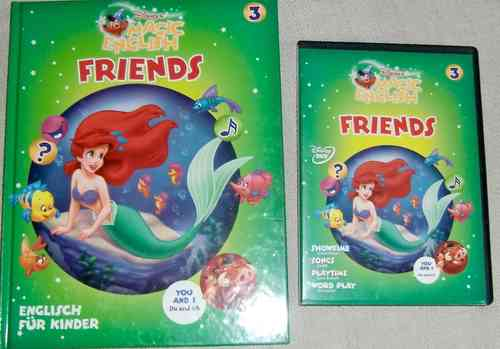 Disney Magic English DVD + Buch Vol. 3 Friends
