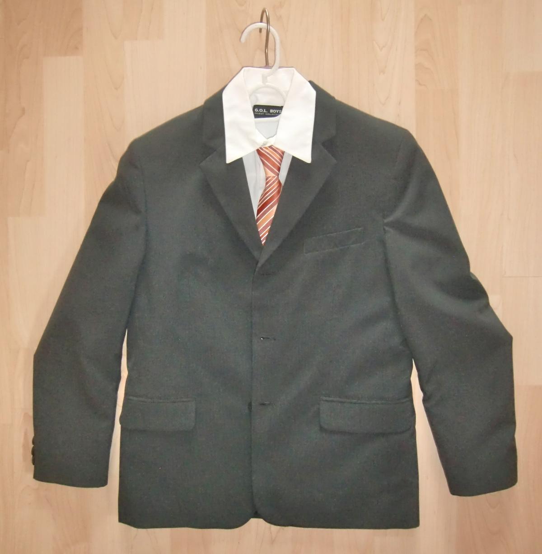 3tlg kombination sakko hemd krawatte gr 152 das wolkenboot. Black Bedroom Furniture Sets. Home Design Ideas