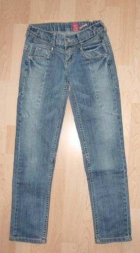Vingino Jeans Glamour Girl Gr. 12 152 Used Look