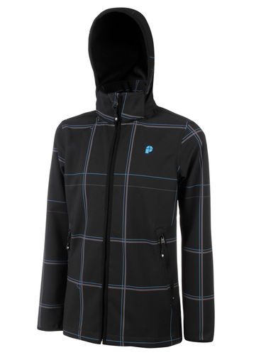 Protest Bramford JR Softshell Jacke Black / Blue