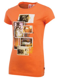 Protest WESTCOAST JR T-Shirt Persimmon Orange