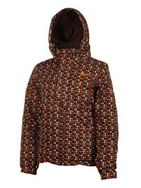 Protest KIM JR Skijacke Jacke Brown Earth