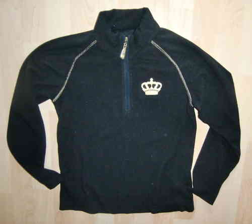 Hot Stuff Funktions Fleece Pulli Schwarz Gr. 152