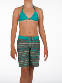 Protest CHAIN JR Girls Board Shorts Grey Green
