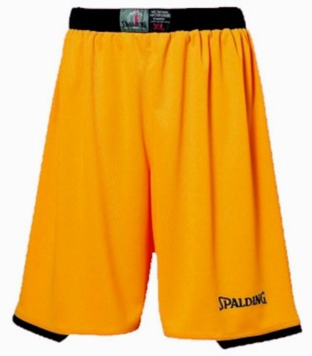 Spalding Assist Basketball Shorts Gelb