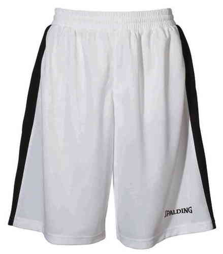 Spalding Rebound Damen Basketball Shorts Weiss