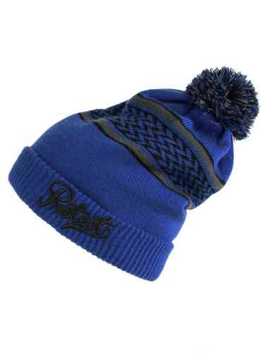 Protest PIKE 13 Beanie Bommel Mütze Bright Blue