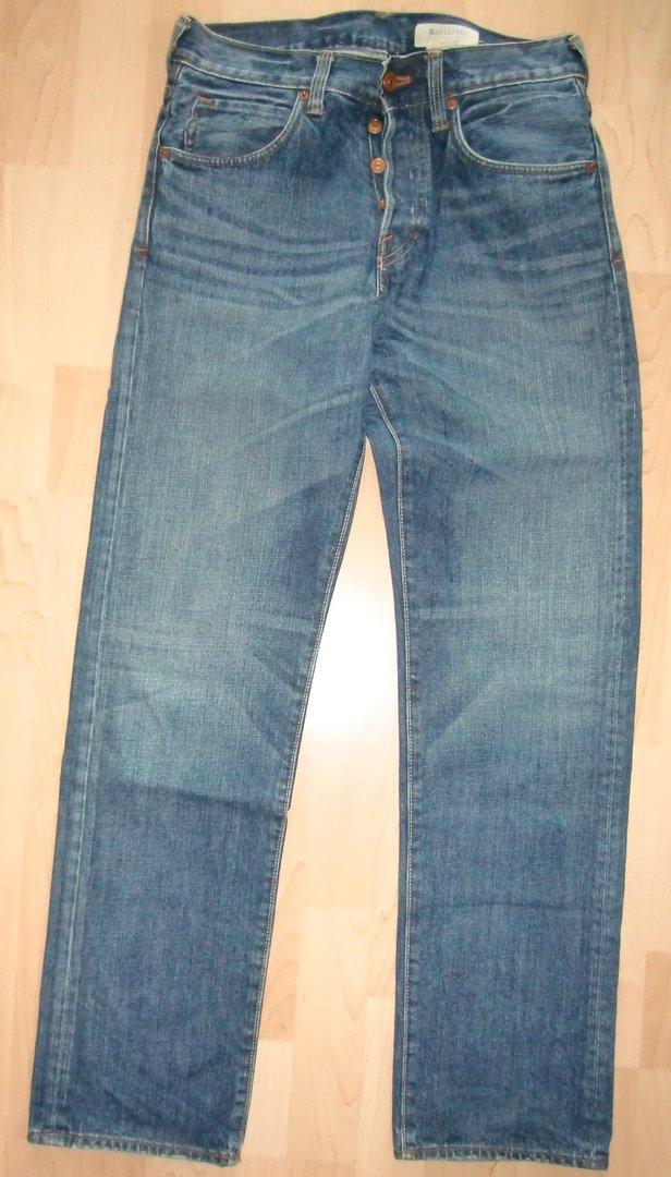 h m original herren jeans 29 x 32 straight leg das wolkenboot. Black Bedroom Furniture Sets. Home Design Ideas