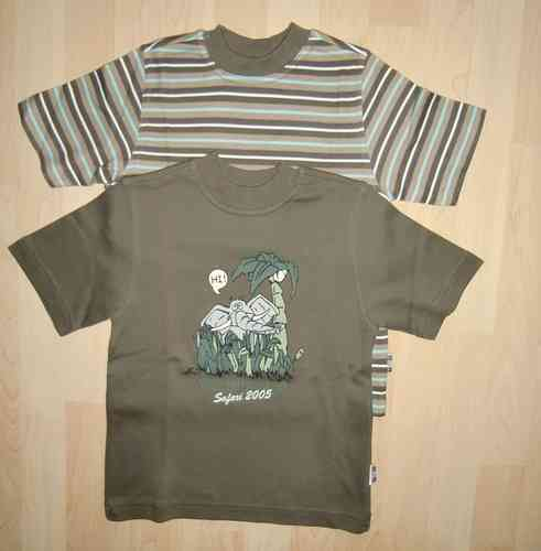 Tommi Toole 2 x KA Shirt Safari NEU Gr. 116 122