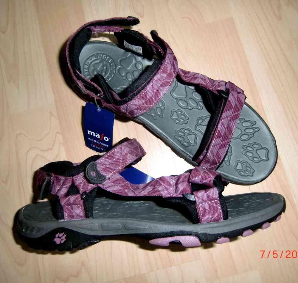 quality design 5e0c1 cfcbb Jack Wolfskin Trekking Sandalen Lila Gr. 40 NEU