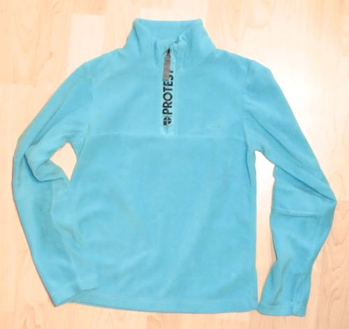 Protest MUTE JR Fleece Pullover Blau Gr. 140