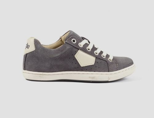 AIGLE YARDEN Time Kinder Leder Sneakers in Grau