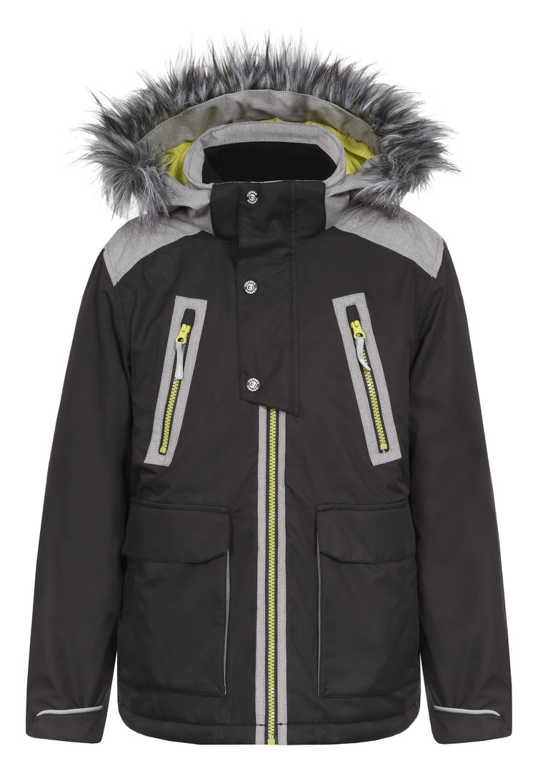 icepeak jungen winterjacke rubert jr mit fellkapuze gr 152 95 ebay. Black Bedroom Furniture Sets. Home Design Ideas