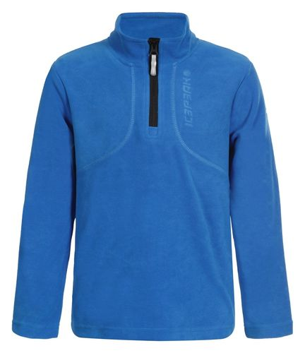 Icepeak NERON Jr Fleece Shirt 1/2 zip top Blau