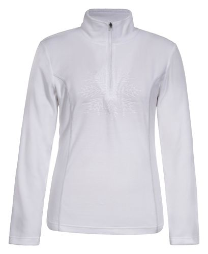 Icepeak WM NOREEN Fleece Pullover 1/2 zip Weiß