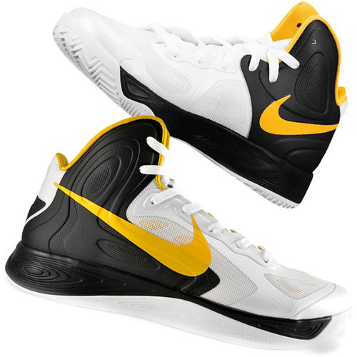 Nike ZOOM Hyperfuse 2012 EU 40 US 7 Weiß Gold