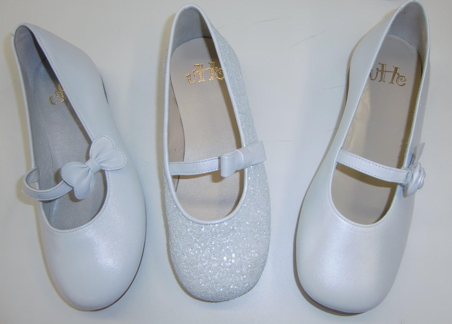 low cost e0e49 de55c Une Hautre Couture Kommunionschuhe Mestizo White - Das ...