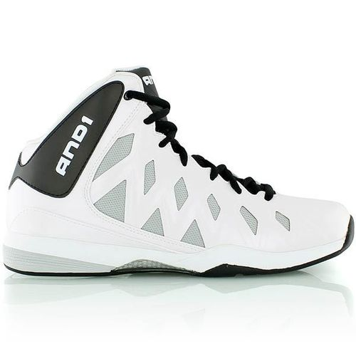 And1 Unbreakable mid Weiß Schwarz EU 41 US 8