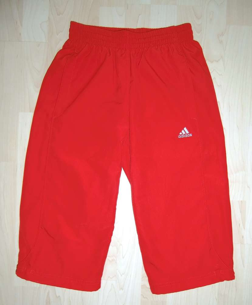 0f90f2ed33a43c adidas climalite 3 4 Sporthose in Rot Gr. 164 - Das Wolkenboot