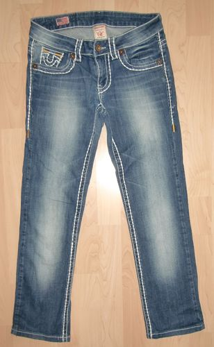 True Religion Rainbow Bobby Faded Jeans Gr 27