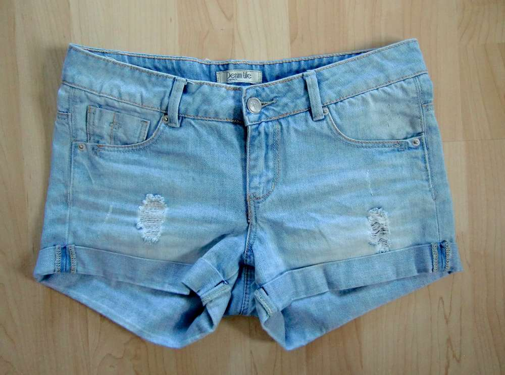 Pimkie Denim Life Hotpants Shorts Gr. 32 - Das Wolkenboot f2cdc8826cd