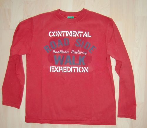 UCB Benetton LA Shirt Rot Gr. XL 12 160 (152)