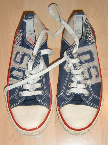 s.Oliver Canvas Sneakers Slippers Gr. 37