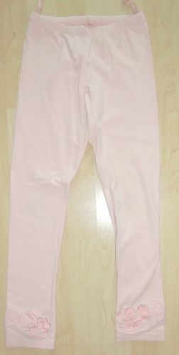 Pampolina Stretch Leggings in Rosa Gr. 140