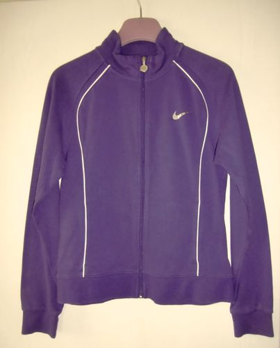 Nike Sweatjacke in Lila Gr XL 158 - 170 13-15yrs