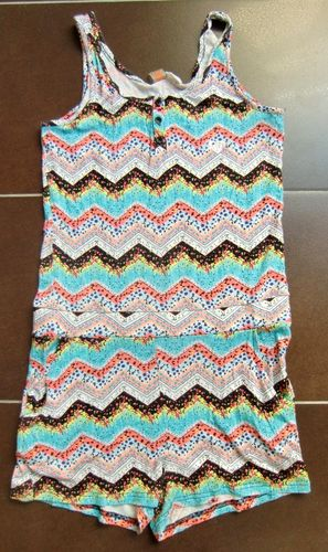 ROXY Beach Jumpsuit C Mon Girl Gr. 16 XXL