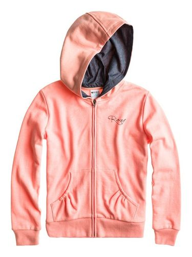 Roxy Girls Zip-Hoodie Halona Peach Gr 14 XL