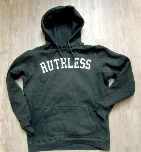 Mister Tee Herren Hoodie Ruthless Charcoral Gr M
